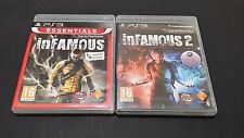 inFamous and inFamous 2 (Sony PlayStation 3)