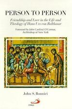 Person to Person: Friendship and Love in the Life and Theology of Hans-ExLibrary