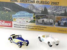 Schuco 50171061 Piccolo Set ADAC Trentino Classic 2007 Jaguar OVP 1411-16-66