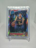 Trae Young 2018-19 Donruss Optic Shock Prizm Rated Rookie #198 RC