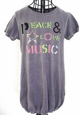 robe tunique 7 ans manches courtes PEACE & LOVE MUSIC Fille 122 cm