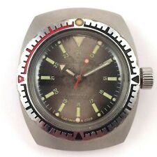 *Us Seller* Soviet Diver Watch, Amphibian, Antimagnetic Vostok 70s #1231