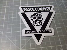 AC SPECIAL FORCES ROCK BAND MUSIC Sticker/ Decal Bumper Stickers  NEW