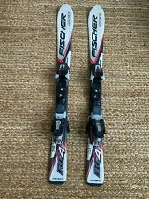 Fischer RC4 downhill skis w/ Marker bindings- kids 100cm