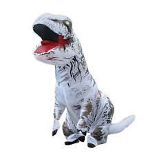 Adult T-Rex Jurassic Inflatable Dinosaur Costume Fancy Dress Xmas Party Props