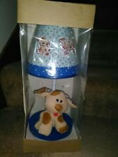 Children's Puppy Dog Tabletop Lamp w/ Shade * Brand New! * Great For A Nursery!