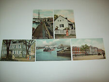 """BRONX - NEW YORK"" RALPH TUCK POSTCARDS SERIES 2639 LOT OF 5"