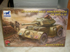 Bronco 1/35 Scale Staghound Mk.III Armoured Car - Factory Sealed