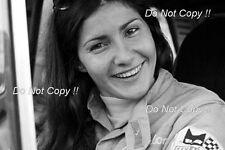 Michele Mouton Alpine-Renault WRC Portrait Photograph