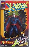 "Mr. Sinister X-Men Deluxe Edition Marvel Comics Toy Biz 10""  Action Figure 1994"