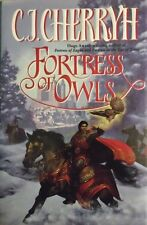 C J CHERRYH FORTRESS OF OWLS BOOK 3 HARDCOVER 1998 1ST EDITION NF/FINE RARE OOP