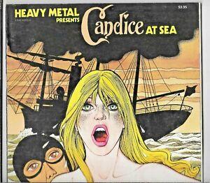 Candice At Sea 1977 Lob Pichard Heavy Metal 1st Ed SC GD/VG Low Grade 0930368908