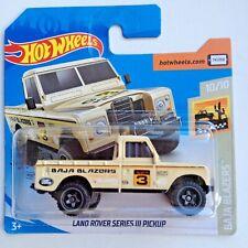 Hot Wheels Land Rover Series 111 Pickup Baja Blazers
