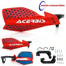 HONDA CRF250 CRF450 04-17 ACERBIS X-ULTIMATE RED / BLUE MOTOCROSS HANDGUARDS