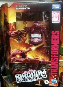 Transformers Kingdom War for Cybertron WARPATH (Deluxe Class)