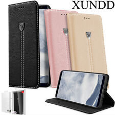 Genuine XUNDD Flip Leather WALLET Case Kickstand Cover fr Samsung Galaxy S8 Plus