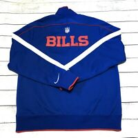 Nike Shield Buffalo Bills Men Sz Xl Sideline Bomber Full Zip Comfortable Jacket