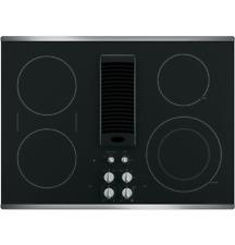 "Ge Profileâ""¢ 30"" Downdraft Electric Cooktop Pp9830Sjss"