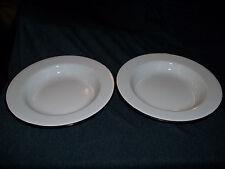 Vintage - Black And White Enamel Plates - Pair