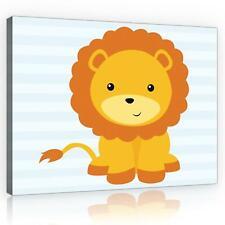 Maravilloso muro imagen imagen del lienzo son impresiones artísticas 15f0198560 león para niños, tie