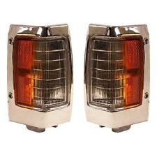 For Nissan Pickup 90-97 Side Marker Lights Lamps Pair Set Left Driver & Right