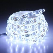 1M 3528 waterproof cool white LED strip lights for Car TV PC Back Mood Lighting