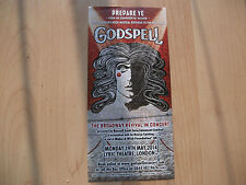 **Godspell The Musical Flyer At Lyric Theatre London**
