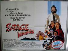 Cinema Poster: SAVAGE ISLAND 1983 (Quad) Tommy Lee Jones Jenny Seagrove