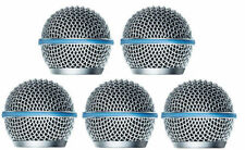 5pcs New Replacement Ball Head Mesh Microphone Grille for Shure BETA58 SM58
