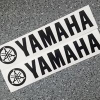 Yamaha BLACK 8.25in 21cm decal decals yzf fjr r6 r1 yz fz09 fz1 fz6r Tenere sr