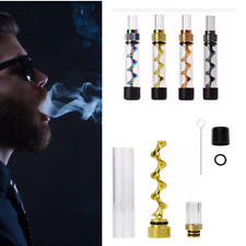 V12 Mini Smoke Twisty Glass Tube Blunt Kit Random Color 2018 Fashion Design