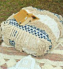 Stunning Moroccan Cushion Beni Ourain Moroccan Floor Beanbag Yoga ShaggyOttoman