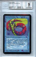 MTG Alpha Lord of Atlantis Magic WOTC BGS 9.0 (9)  Mint Card 9.5 centering 1051