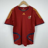Adidas Spanish Football Federation Soccer Jersey Size Medium 2005