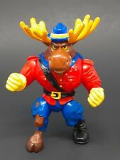 Vtg 1992 TMNT MONTY MOOSE Figure Teenage Mutant Ninja Turtles