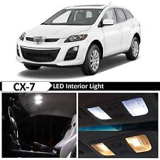 White Interior LED Lights Package Kit for 2007-2012 Mazda CX-7 CX7