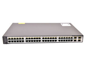 Cisco Catalyst 3750 V2 Series Switch 48 Ethernet 10/100 ports WS-C3750V2-48PS-S
