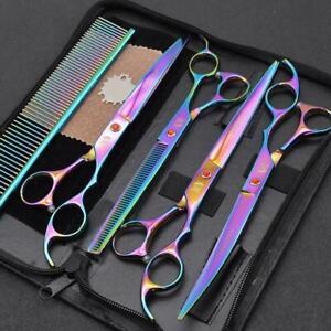 Pet Dog Grooming Scissors Kit Fast Cut L7K0