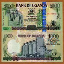 Uganda, 1000 (1,000) Shillings, 2008, P-43, UNC > Wide OVD