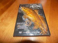 SHALLOW WATER ANGLER SEASON 5 2 Disc 13 Episode Fishing Sportfishing DVD SET NEW