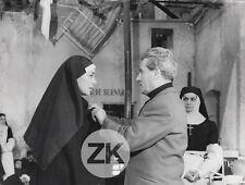 EMMANUELLE RIVA Thomas l'imposteur FRANJU COCTEAU Religieuse Tournage Photo 1965