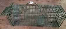 Duke Squirrel Live Cage Trap Chipmunk Rat Box 5x5x16 Model 1100 Traps Safe Catch