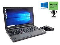 Lenovo ThinkPad T540p Laptop i5-4300M 2.6GHz 128GB SSD 8GB RAM Windows 10 ***