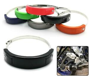 Oval Exhaust Protector Can Cover For SUZUKI DR-Z400S/DR-Z400SM/DL650 V-STROM