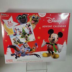 Disney Advent Calendar Disney Junior 32 pieces New Sealed Christmas Mickey