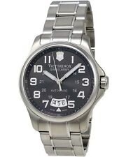 VICTORINOX SWISS ARMY – ARMY OFFICER GREY DIAL DATE MEN'S AUTOMATIC WATCH $875