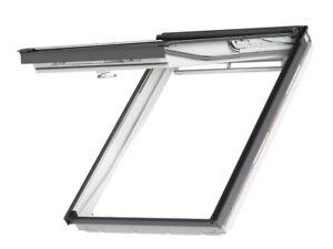 VELUX GPU Klapp-Schwingfenster, Dachfenster aus Kunststoff inkl. Eindeckrahmen