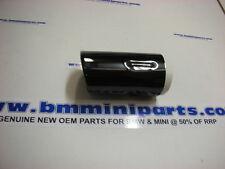 BMW E39 BLACK CHROME EXHAUST TRIM NLA 82129408599