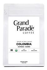 Organic Colombian Supremo Dark Roast, Fresh Roasted Ground Coffee, 1 LB Bag