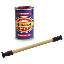 Abro Valve Grinding Paste Tin Fine & Coarse Grade 140g + Lapping Stick Tool Set